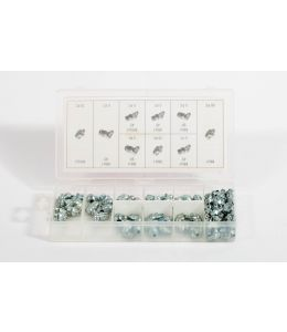 110 PC Hydraulic Grease Fitting Assortment