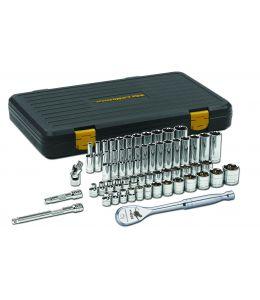 "Gearwrench 3/8"" Dr Std &Deep Mechanics Tool Set SAE/Metric 56Pc"