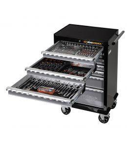 173Pc SAE/Metric Combination Tool Kit + Trolley