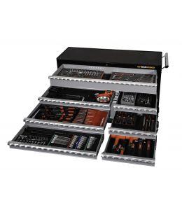 254Pc SAE/Metric Combination Tool Kit + Trolley