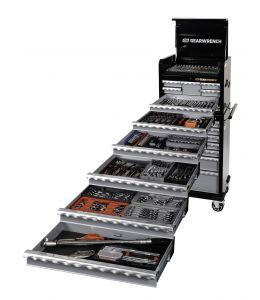 312Pc SAE/Metric Combination Tool Kit + Chest + Trolley