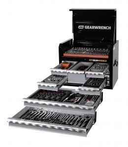 245Pc SAE/Metric Tool Kit + Chest