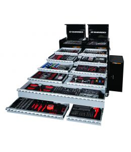 620Pc Tool Kit + Chest + Side Cabinets