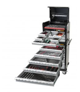 Gearwrench 387 Pc Combination Tool Kit + Tool Chest & Trolley