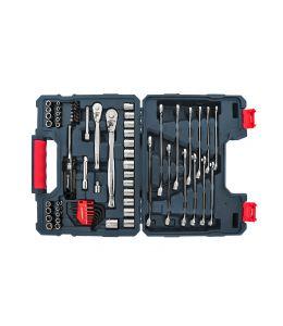 "Crescent 70 Pc. 1/4"" & 3/8"" Drive 6 & 12 Point Standard SAE/Metric Mechanics Tool Set"