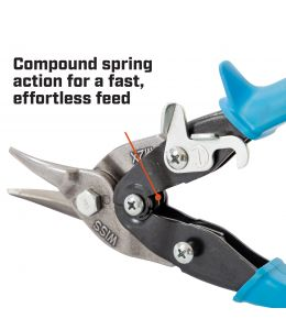 Crescent Wiss Aviation Snips for Hard Metals, Right Cut