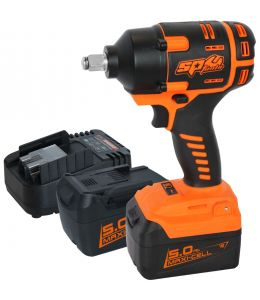 "18V 1/2"" Cordless Impact Wrench Kit 5"
