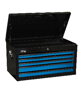 TOOL BOX BLACK/BLUE 7 DRAWER CUSTOM SUMO
