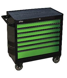 ROLLER CAB BLACK/GREEN 7 DRAWER CUSTOM SUMO