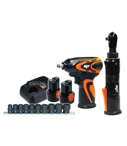Cordless 12V Combo Kit - 3/8 Impact Wrench