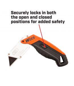 Crescent Wiss Folding Quick Change Utility Knife